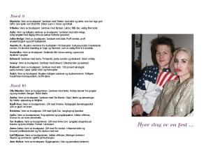Bryllupsprogram Silje og Toralv 6-7