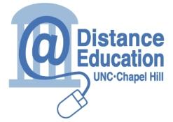 Logo for UNC Distance Education