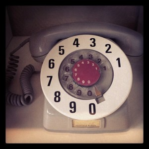 Oldemors telefon