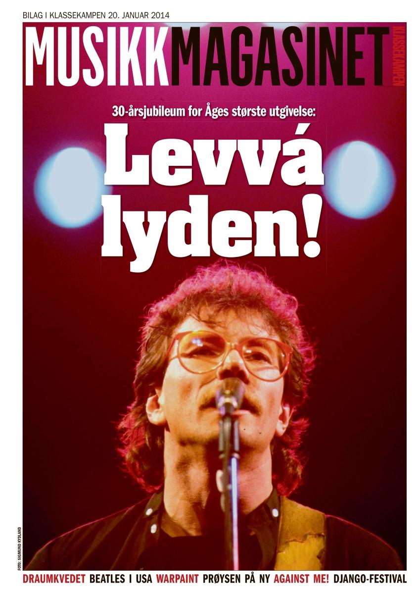 Musikkmagasinet, cover 20. januar 2014