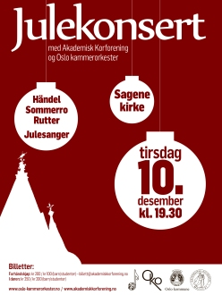 Julekonsert 2013