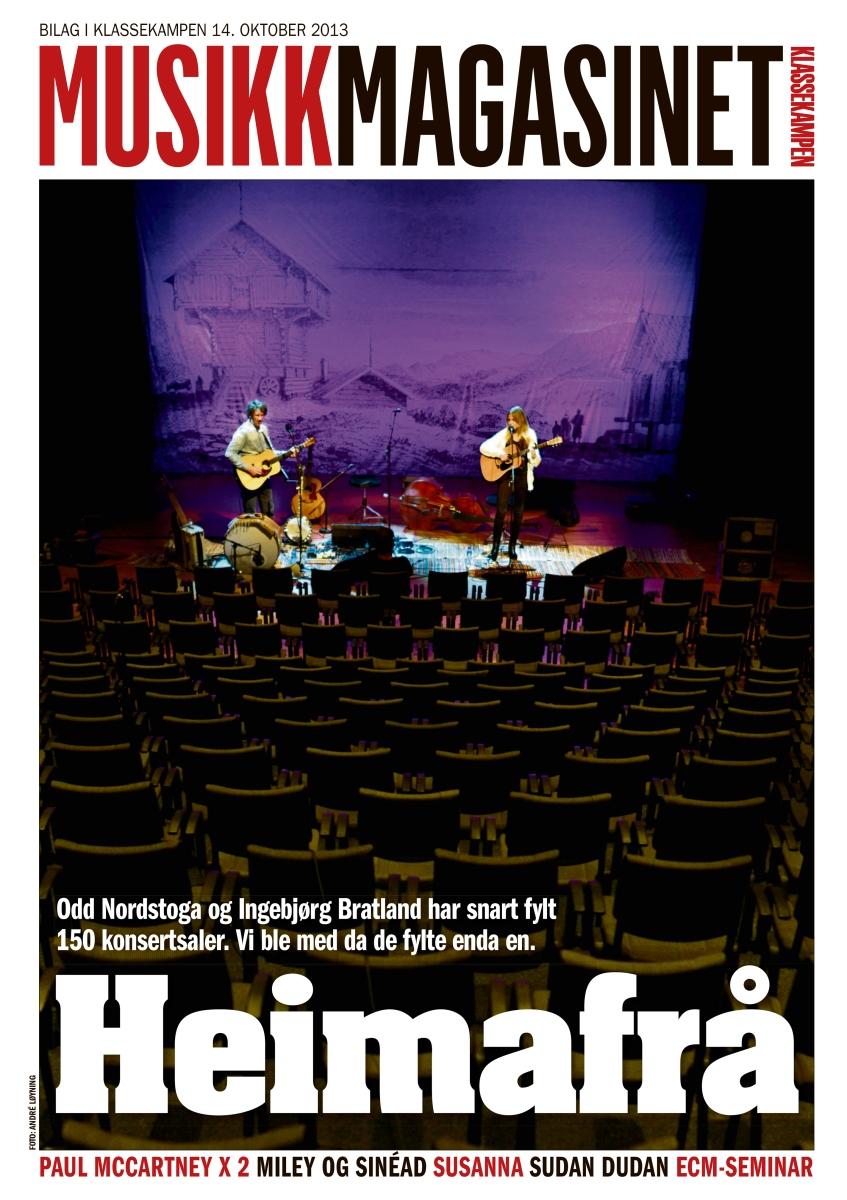Musikkmagasinet 14. oktober 2013